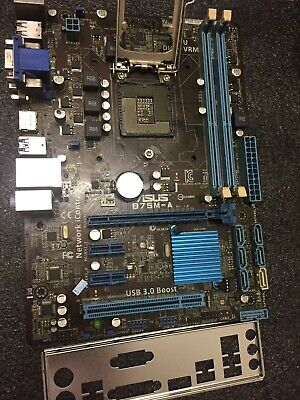 AU78 • Buy ASUS B75M-A Socket 1155 Motherboard, Front USB 3.0, HDMI DVI VGA Output