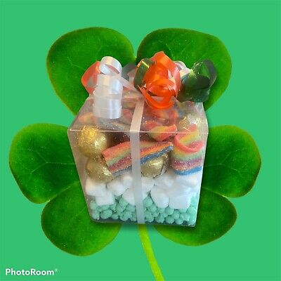 St Patrick's Day Sweets, Millions, Mallows, Choc Balls And Rainbow Belts. • 4£
