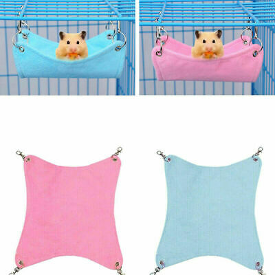 £3.25 • Buy Hamster Hanging House Hammock Sleeping Nest Bed Rat Hamster Toy Cage Accessories