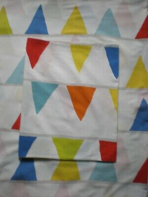 Child's Single Duvet Cover & Pillowcase. IKEA. Flags • 10£