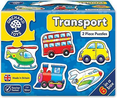 £6.95 • Buy Orchard Toys Transport Puzzle | 2 Piece Puzzles | 18 Months +