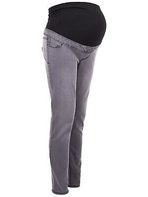 £13.50 • Buy N£w Look Maternity Grey Over Bump Jeggings Skinny Jeans Size 8-18 New