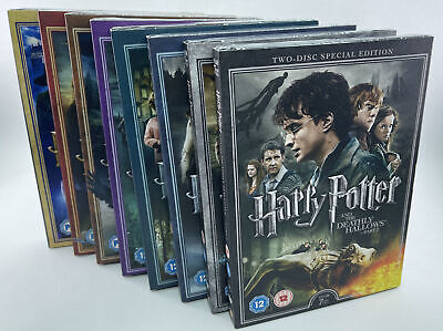$ CDN77.22 • Buy Harry Potter Complete DVD Sets - Years 1-7 - 16 DVD Special Edition - New/Sealed