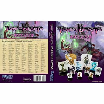 AU65.95 • Buy Kobold Press Tome Of Beasts 2 Pawns For 5th Edition