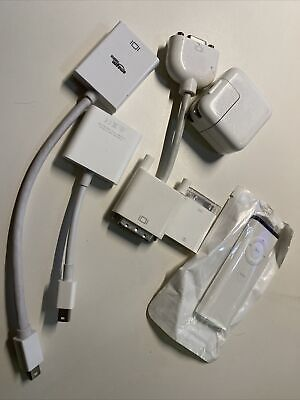 $9.99 • Buy Mac Apple 🍎 Cables & Accessories - 6 Assorted