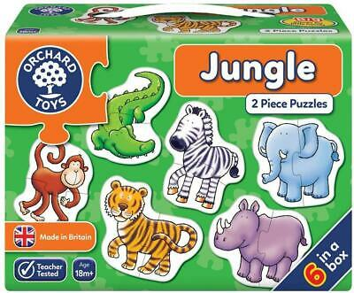 £6.95 • Buy Orchard Toys Jungle Puzzle | 2 Piece Puzzles | 18 Months +