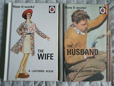 Husband & Wife Comedy....how It Works !! 2 Ladybird Books For Adults  • 4.65£