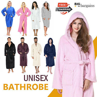£16.95 • Buy 100% Egyptians Cotton Luxury Toweling Bath Robe Unisex Dressing Gown Terry Towel