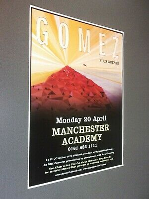 £10 • Buy Manchester University Concert Posters 2000-2013
