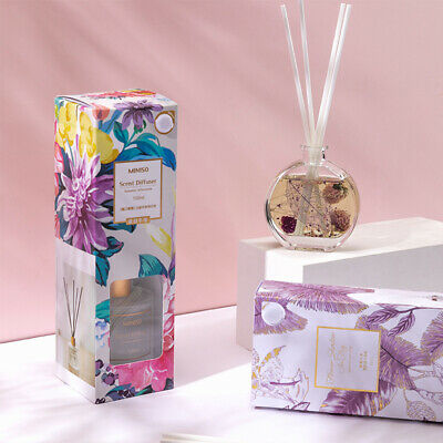 AU21.99 • Buy MINISO Reed Diffuser Present Set Natural Essential Oil Aromatherapy 90/100ML AU