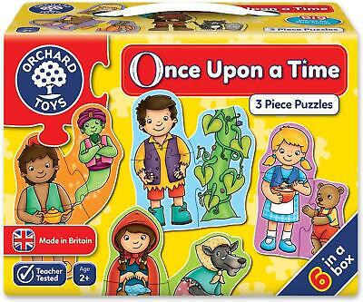 £6.95 • Buy Orchard Toys Once Upon A Time Jigsaw Puzzle | 3 Piece Puzzles | Ages 2+