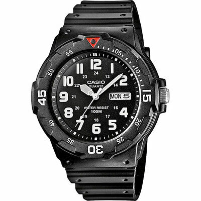 £17.99 • Buy Casio MRW-200H-1BVEF Men's Sports Analog Day Date Resin Strap Watch Used DEAL