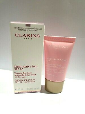 £7.50 • Buy Clarins Multi -Active Jour Day Cream 15ml Boxed