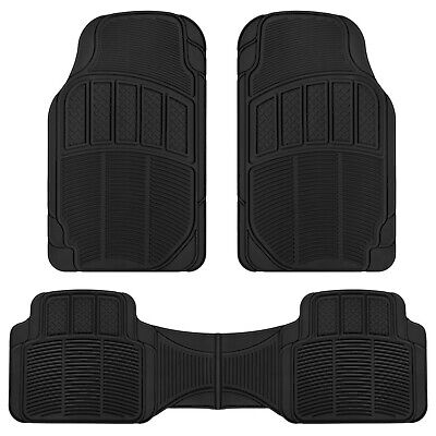 $14.90 • Buy Automotive Car Floor Mats Heavy Duty All Weather Rubber OR Carpet Choose Style