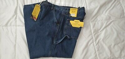 $12.95 • Buy Stanley Fleece Lined Mens Jeans 38x32 NWT