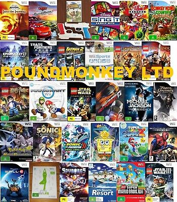 Wii Games Nintendo Wii - Very Good - Same Day Dispatch Via Super Fast Delivery • 34.99£