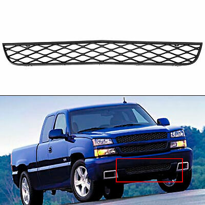 $99 • Buy For 2003 2004 2005 Chevrolet Silverado SS Gray Front Lower Grille