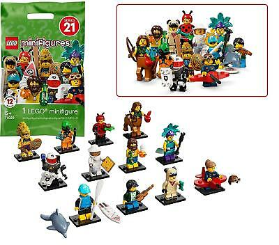Lego 71029 Mini Figures Series 21 Blind Bag One Supplied Randomly • 3.49£