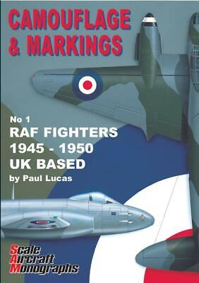 £20 • Buy Camouflage And Markings No.1 RAF Fighters 1945-1950 UK Based BOOK