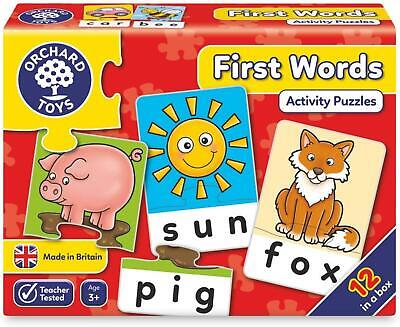 £7.99 • Buy Orchard Toys First Words Game Help Learn Babies Toddlers And Preschool Kids Gift
