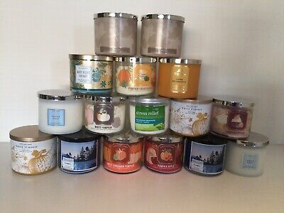 £20 • Buy Bath And Body Works 3 Wick Candles Updated Collection Free Gift Wrap