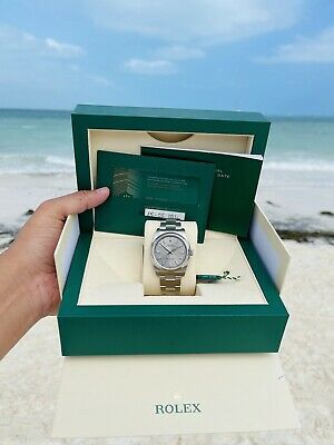 AU8654.09 • Buy Rolex Oyster Perpetual 36mm Ref. 116000 Thick Lugs Watch!!! Box & Papers! New