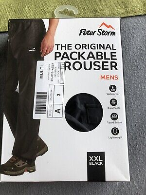 Brand New Men's Waterproof Trousers XXL Peter Storm • 7.99£
