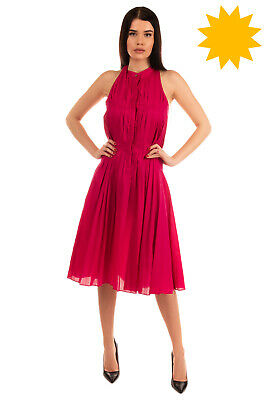 AU54.16 • Buy RRP €250 IO IVANA OMAZIC Fit & Flare Dress Dress Size IT 42 / S Pleated Unlined