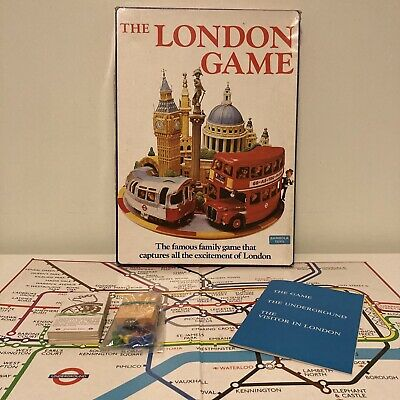 £14.99 • Buy VINTAGE THE LONDON GAME BOARD GAME UNDERGROUND 1972 BAMBOLA  Complete