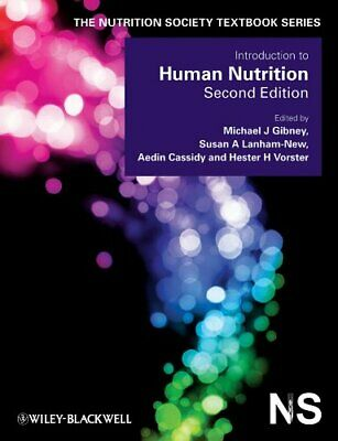 £42.56 • Buy Introduction To Human Nutrition By Gibney, Michael J. (Paperback)