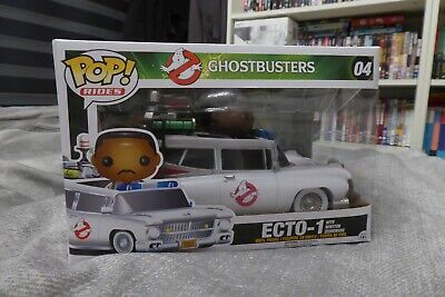 Funko Pop! Ghostbusters Ecto-1 With Winston Zeddemore #04 VERY RARE Brand New • 39.99£