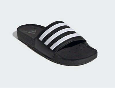 AU80.26 • Buy Adidas Adilette Boost Slides Black UK10