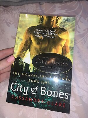 The Mortal Instruments Book 1 City Of Bones By Cassandra Clare (Paperback, 2007) • 1.60£