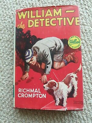 William The Detective By Richmal Crompton 1957 • 5£