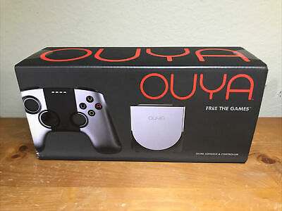 $65 • Buy OUYA Silver 8GB Android Video Game Console System Open Box.