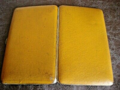 Vintage SOCIETY Slim Cigarette Case Antique  1950s 60s  Made In England • 21£