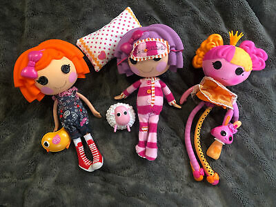 3 X 12'' Lalaloopsy Dolls With Pets Bundle. Excellent Condition. • 20£