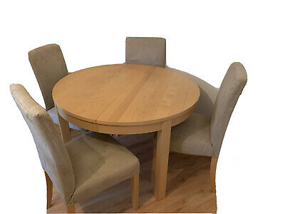 Ikea Extendable Dining Table And 4 Chairs • 50£