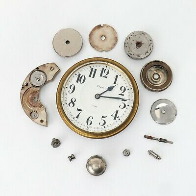 AU197.29 • Buy Octava Watch & Co 8 Day Travel Clock Swiss Made For Watchmakers Parts Repairs