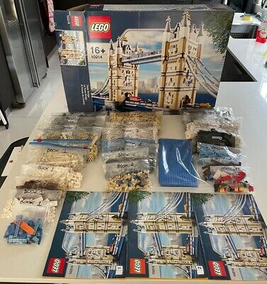 Lego Creator Expert Tower Bridge 10214 Retired 100% Complete *Modular Option* • 250£