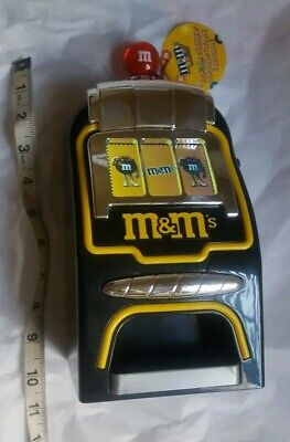 M&M's World Slot Machine Chocolate Candy Candies Dispenser New With Tags • 64.02£