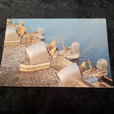 £1.45 • Buy Collectible Postcard Of The Thames Barrier At Charlton London