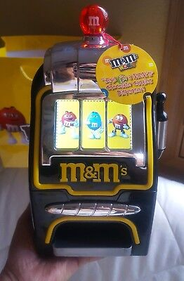 M&M's World Slot Machine Chocolate Candy Candies Dispenser New With Tags • 47.16£