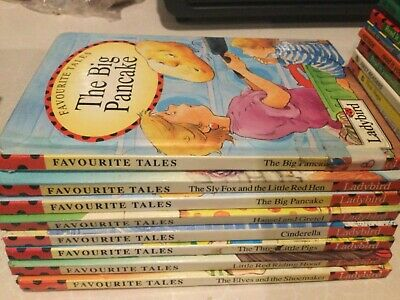 8 LADYBIRD BOOKS  FAVOURITE TALES  Please Look At My Other Listings • 8.50£