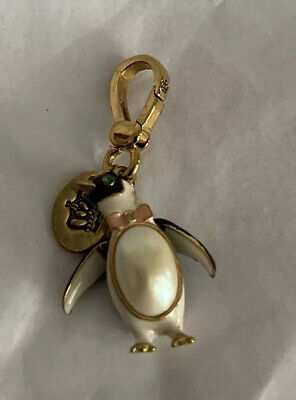 £36.20 • Buy Rare 2008 Juicy COUTURE CRYSTAL Eye PENGUIN Limited  BRACELET Charm *203
