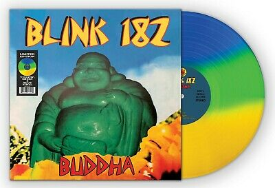BLINK 182 - BUDDHA Tri Color LP Limited Edition The Girl Next Door Pop Punk  • 21.70£
