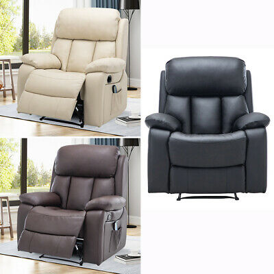 Lift Recliner Chairs Backrest Armchairs Lounge Sofa For Home Office Elderly Seat • 299.95£