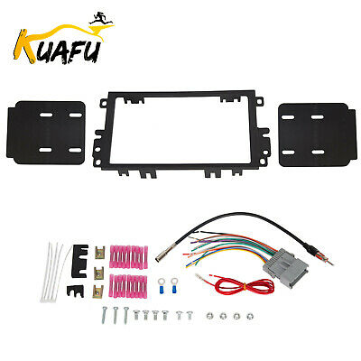 $12 • Buy Car Radio Stereo Double Din Dash Kit Harness Antenna For 1992-up GMC Chevy Isuzu
