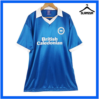 £34.99 • Buy Brighton & Hove Albion Football Shirt XL Home Official Remake Soccer Jersey 1980