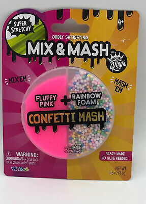 AU17.93 • Buy Mix And Mash Squishy Like Slime Confetti Mash By Compound Kings
